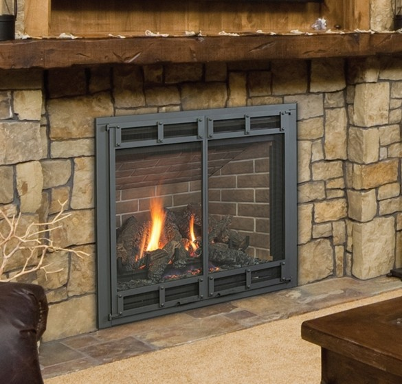 HUNTER GAS FIREPLACES – Fireplaces